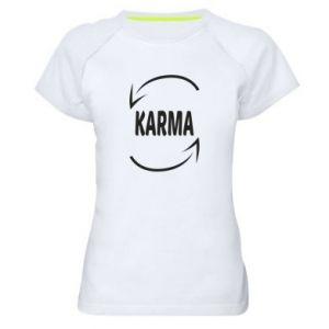 Damska koszulka sportowa Karma