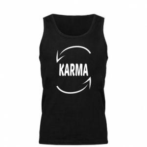 Męska koszulka Karma