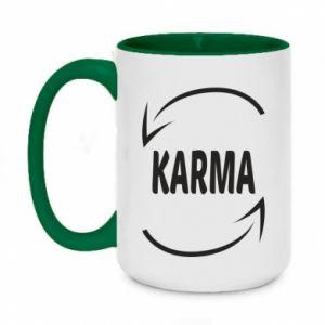 Kubek dwukolorowy 450ml Karma