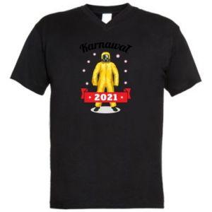 Męska koszulka V-neck Karnawal 2021