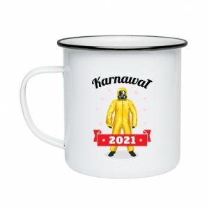 Enameled mug Carnival 2021