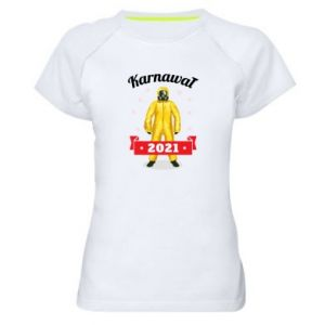 Damska koszulka sportowa Karnawal 2021