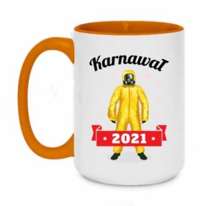 Two-toned mug 450ml Carnival 2021