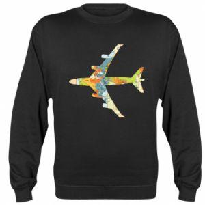 Sweatshirt Airplane card