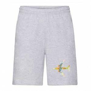 Men's shorts Airplane card