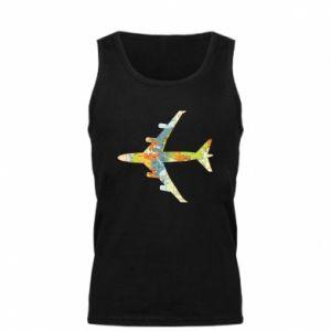 Men's t-shirt Airplane card