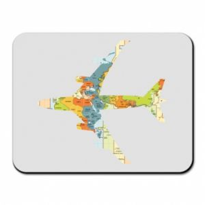 Mouse pad Airplane card