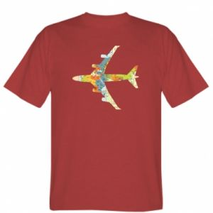T-shirt Airplane card