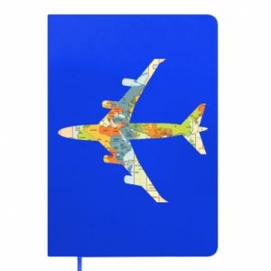 Notepad Airplane card