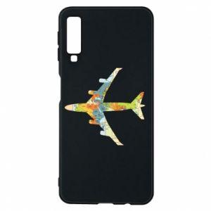 Samsung A7 2018 Case Airplane card