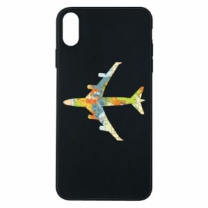 iPhone Xs Max Case Airplane card
