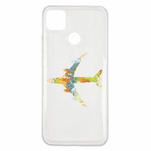 Xiaomi Redmi 9c Case Airplane card