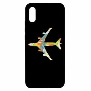 Xiaomi Redmi 9a Case Airplane card