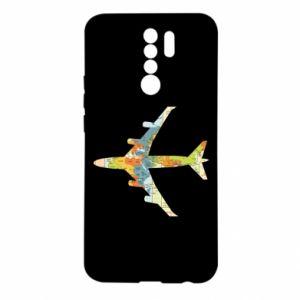 Xiaomi Redmi 9 Case Airplane card