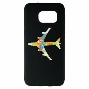 Samsung S7 EDGE Case Airplane card