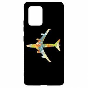 Samsung S10 Lite Case Airplane card