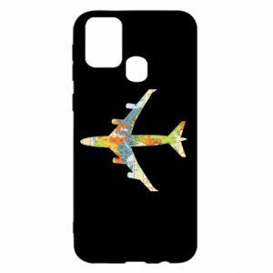 Samsung M31 Case Airplane card