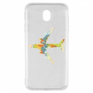 Samsung J7 2017 Case Airplane card