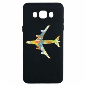 Samsung J7 2016 Case Airplane card