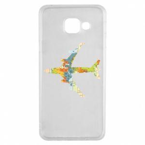 Samsung A3 2016 Case Airplane card
