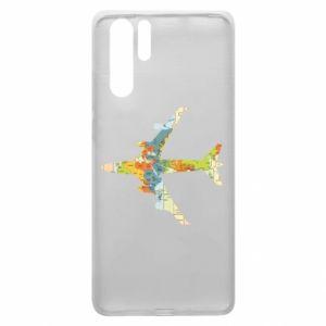Huawei P30 Pro Case Airplane card
