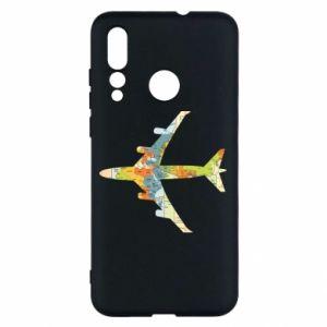 Huawei Nova 4 Case Airplane card