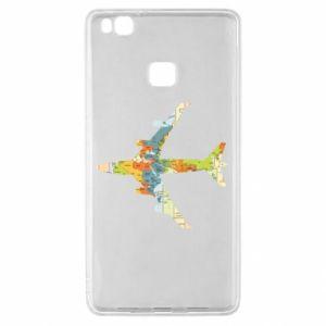 Huawei P9 Lite Case Airplane card