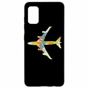 Samsung A41 Case Airplane card