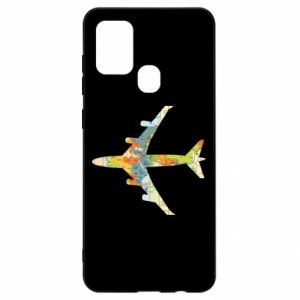 Samsung A21s Case Airplane card