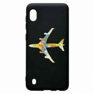 Samsung A10 Case Airplane card