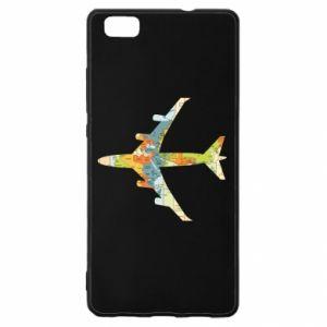 Huawei P8 Lite Case Airplane card