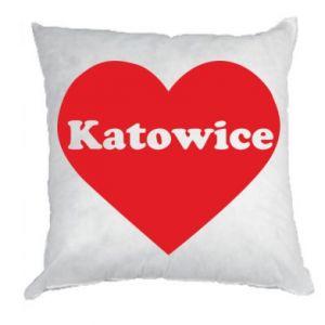 Pillow Katowice in heart