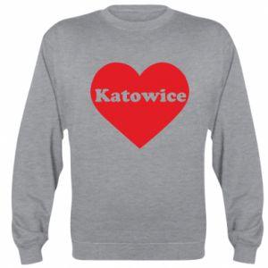 Sweatshirt Katowice in heart
