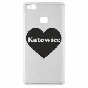 Huawei P9 Lite Case Katowice in heart