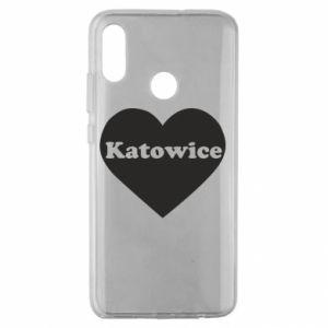 Huawei Honor 10 Lite Case Katowice in heart