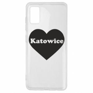 Samsung A41 Case Katowice in heart