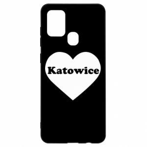 Samsung A21s Case Katowice in heart