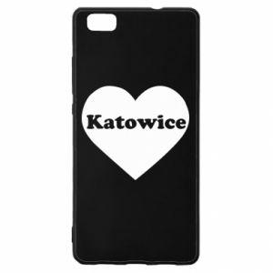 Huawei P8 Lite Case Katowice in heart
