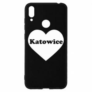 Huawei Y7 2019 Case Katowice in heart