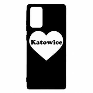 Samsung Note 20 Case Katowice in heart