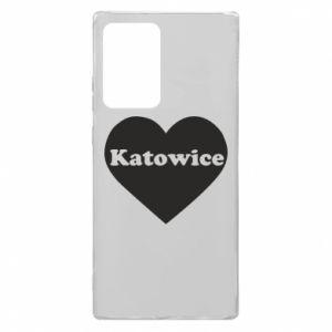 Samsung Note 20 Ultra Case Katowice in heart