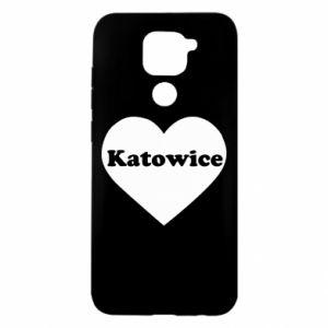 Xiaomi Redmi Note 9 / Redmi 10X case % print% Katowice in heart