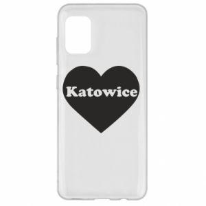 Samsung A31 Case Katowice in heart