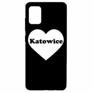 Samsung A51 Case Katowice in heart