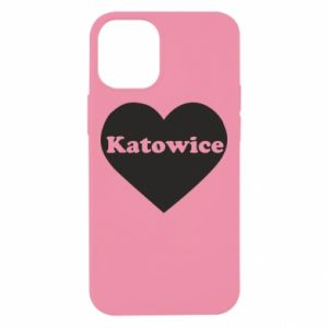 iPhone 12 Mini Case Katowice in heart