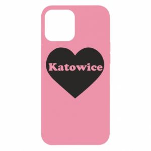 iPhone 12 Pro Max Case Katowice in heart