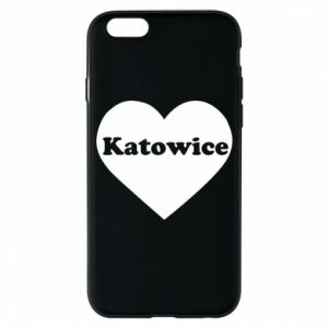 Phone case for iPhone 6/6S Katowice in heart