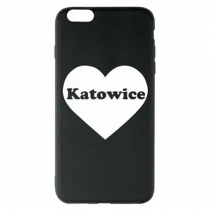Phone case for iPhone 6 Plus/6S Plus Katowice in heart