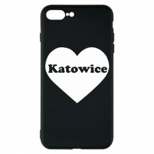 Phone case for iPhone 7 Plus Katowice in heart