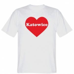 T-shirt Katowice in heart